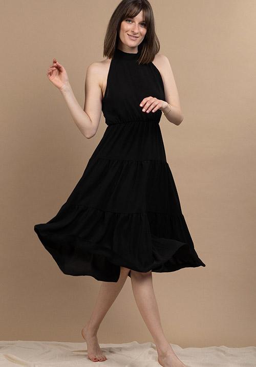 Dandelion Black Dress