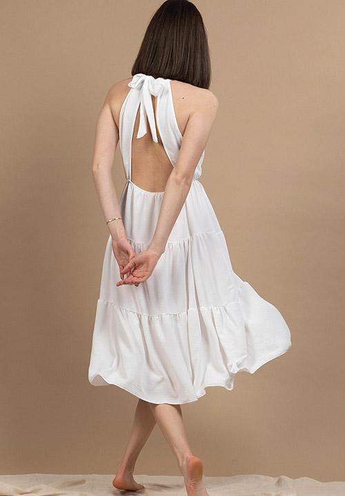 Dandelion White Dress