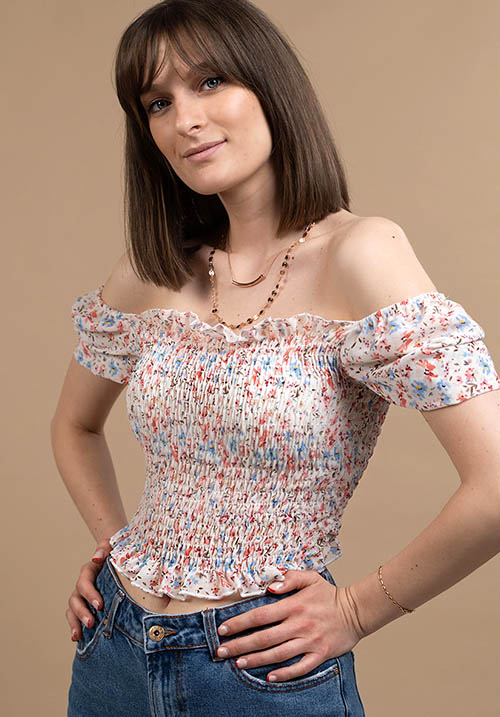 Baby Blossom White Top