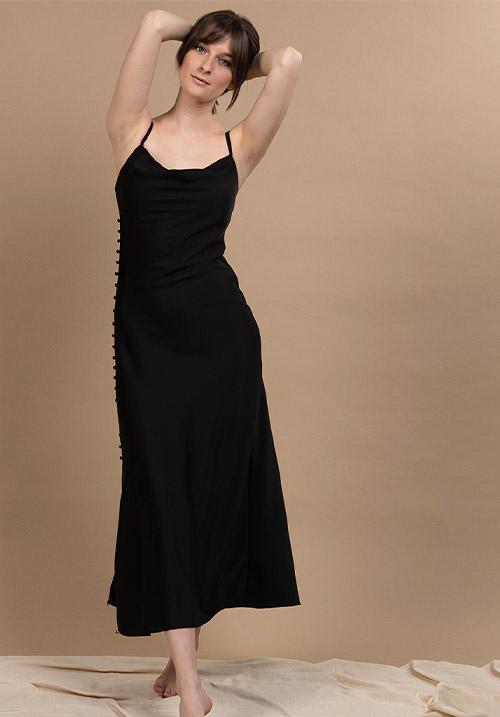 Sleek Black Dress (SOLD OUT)