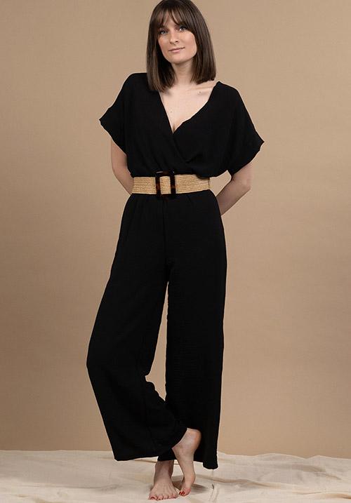 Sorbet Black Jumpsuit