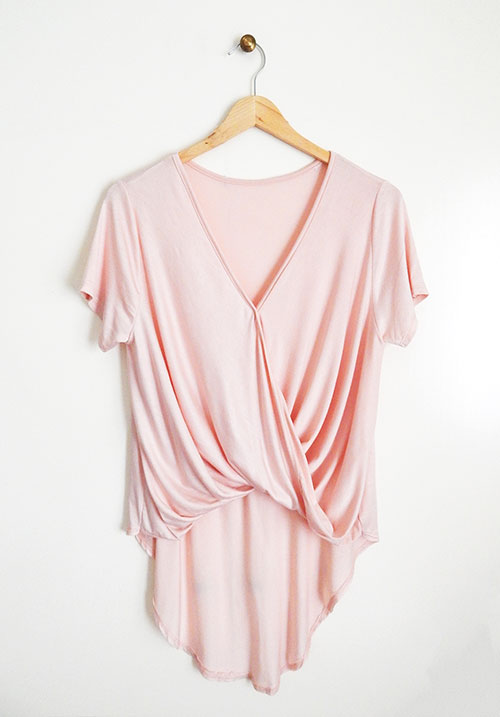 Twisted World Nude Top