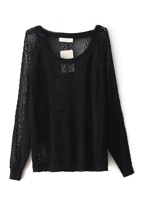 Μακρυμάνικη πλεκτή μπλούζα (SOLD OUT)