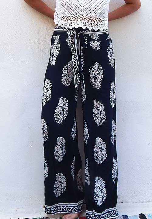 Blue Leaves Pants (SOLD OUT)