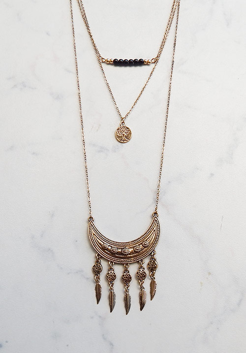 Moon Layering Necklace (SOLD OUT)