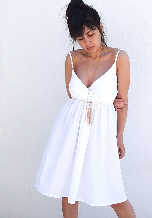 Sun Dazed White Dress