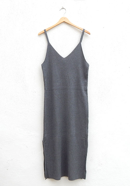 Drum Roll Grey Dress