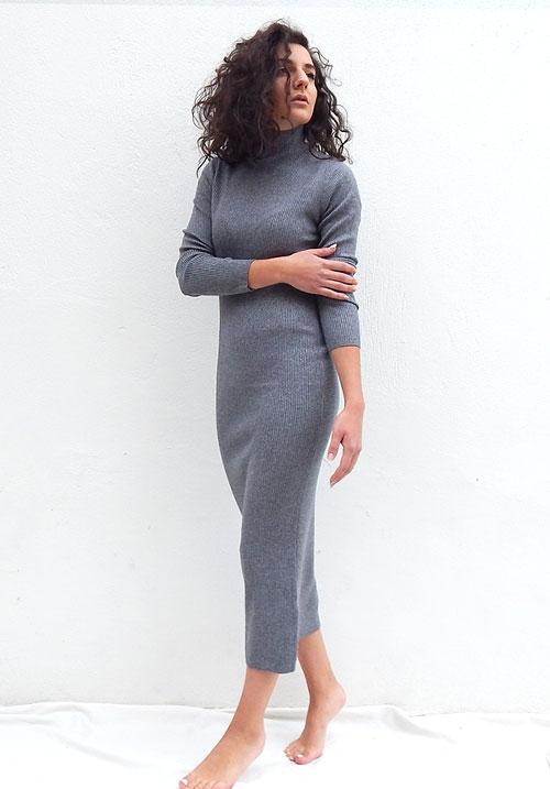 Butterscotch Grey Dress (SOLD OUT)