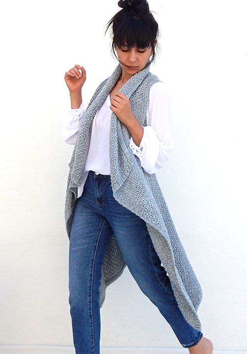 Knit Grey Vest (SOLD OUT)