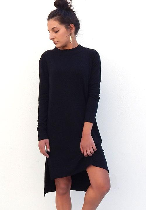 Foggy Night Knit Dress