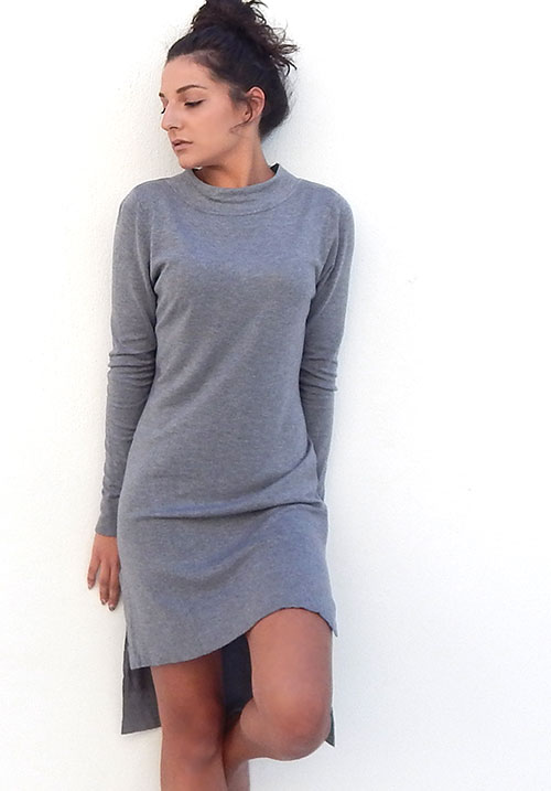 Foggy Day Knit Dress