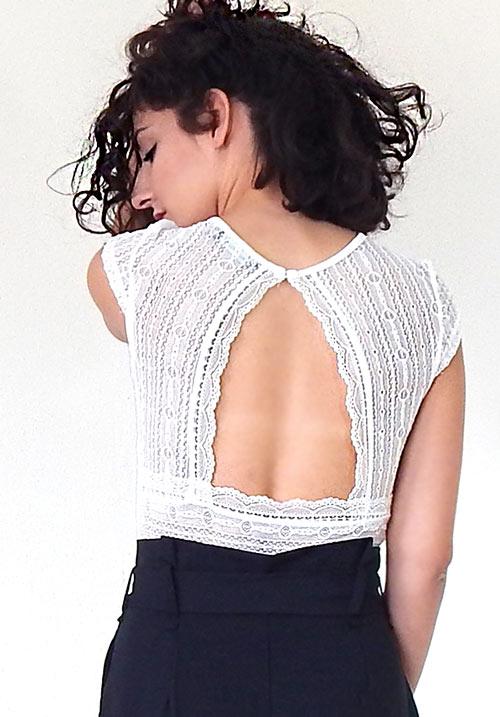 Victorian Lace White Body