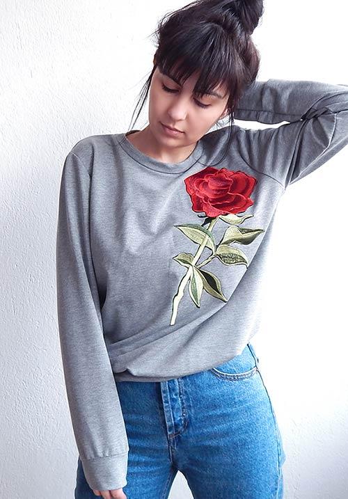 Rose Sweatshirt