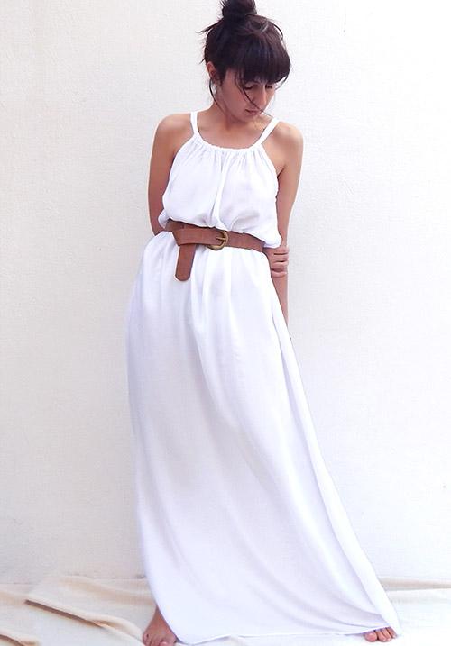 A Summer Cruize White Dress
