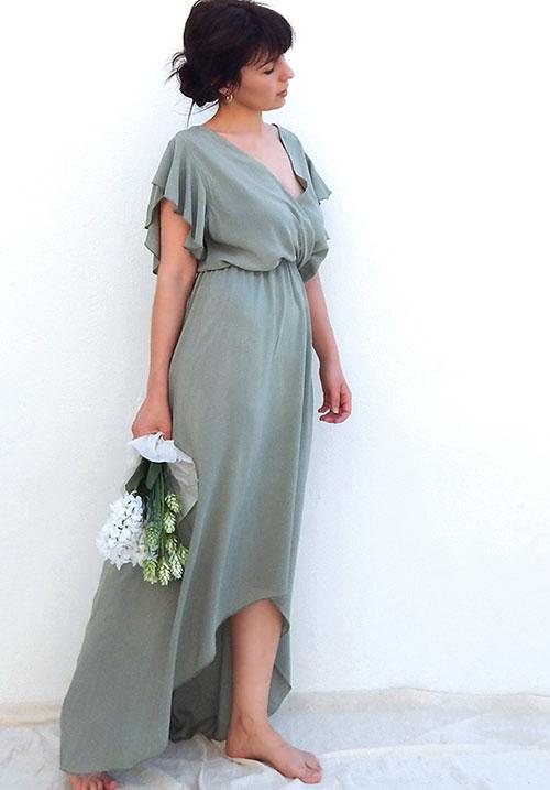 Cuba Libre Khaki Dress
