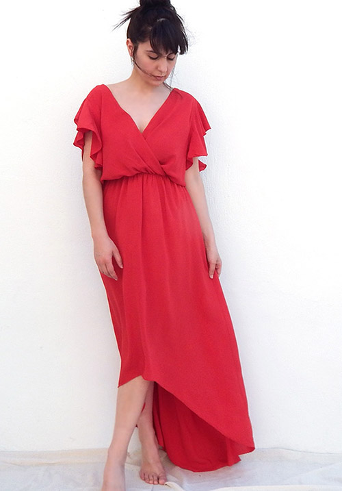Cuba Libre Red Dress (SOLD OUT)