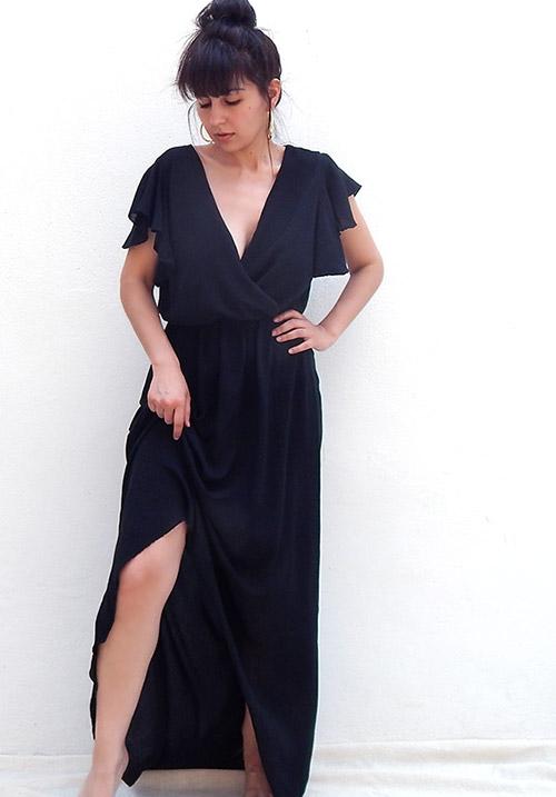 Cuba Libre Black Dress (1 LEFT)