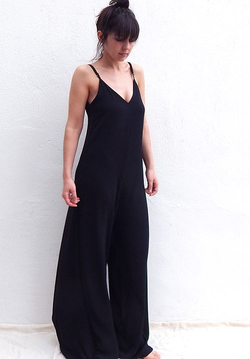 Adelaide Black Jumpsuit