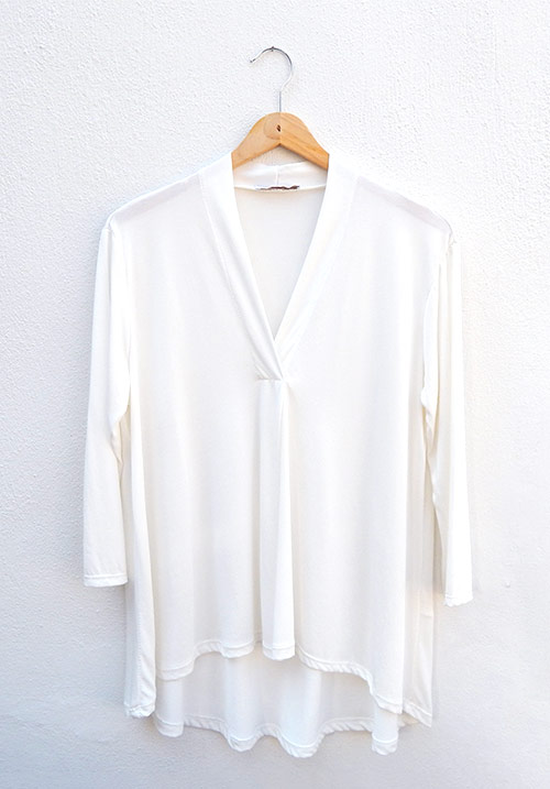 Marshmallow White Blouse