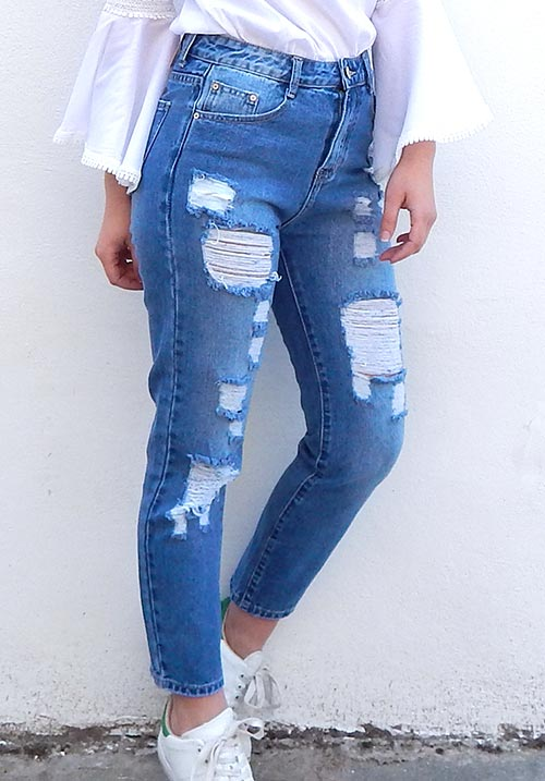 Cropped Highwaisted Jeans
