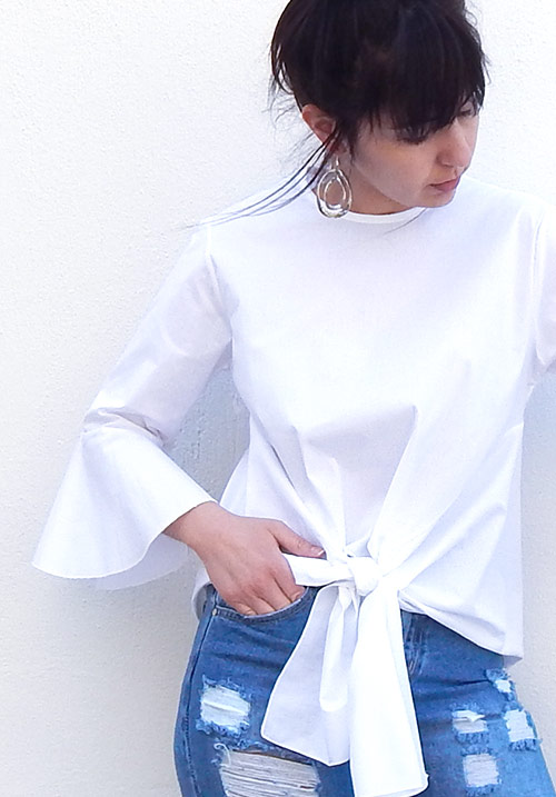 Coconut Water White Blouse