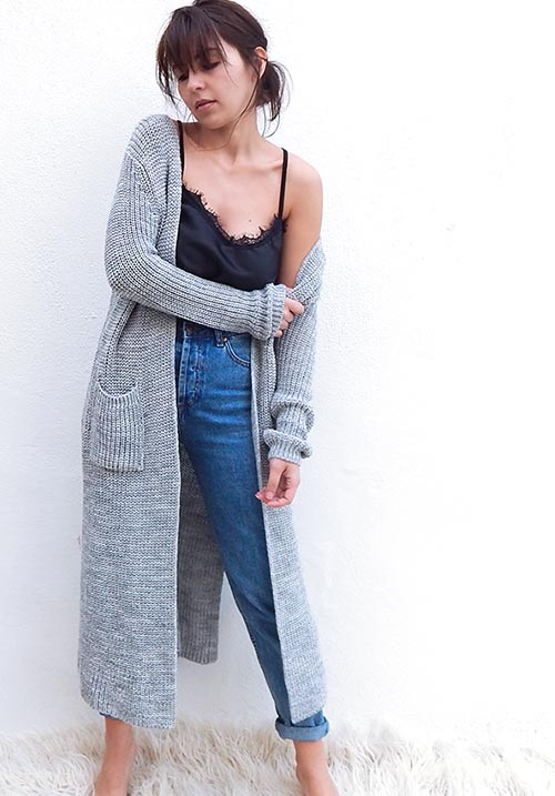 Duster Grey Cardi (SOLD OUT)
