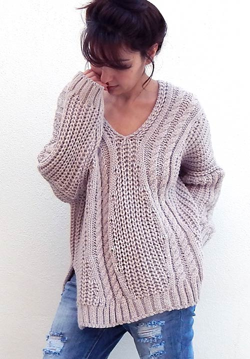 Cozy Hug Rose Knit (SOLD OUT)