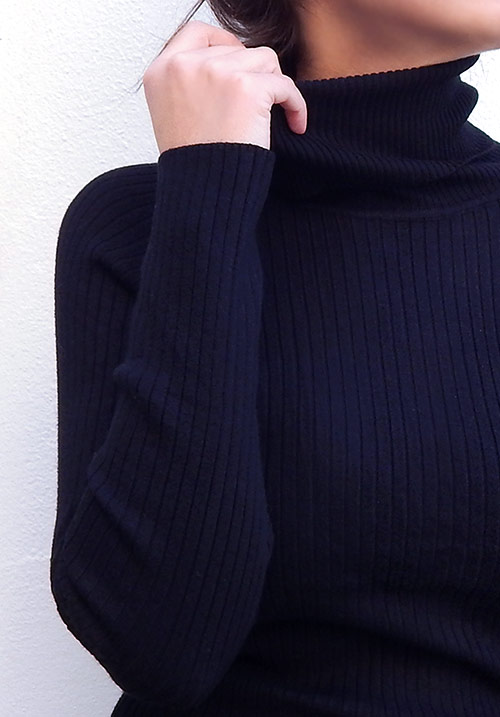 Turtleneck Midi Dress (SOLD OUT)