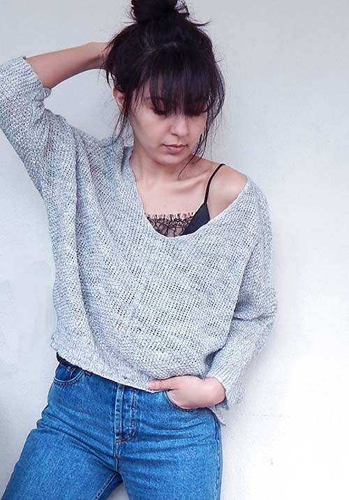 A Warm Tea Grey Knit (SOLD OUT)