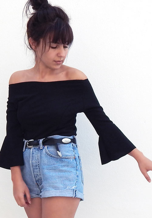 Sicily Black Top (SOLD OUT)