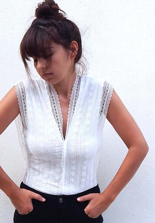 Lace Kissed White Body (SOLD OUT)