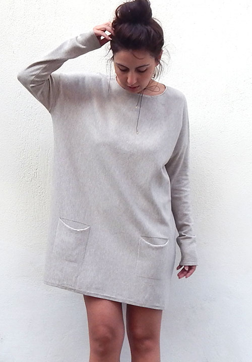Cocoon Beige Dress (SOLD OUT)