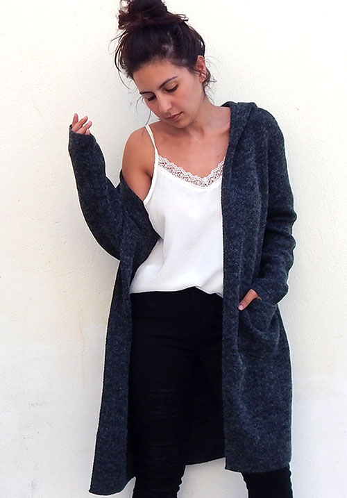 Onyx Grey Cardi (SOLD OUT)